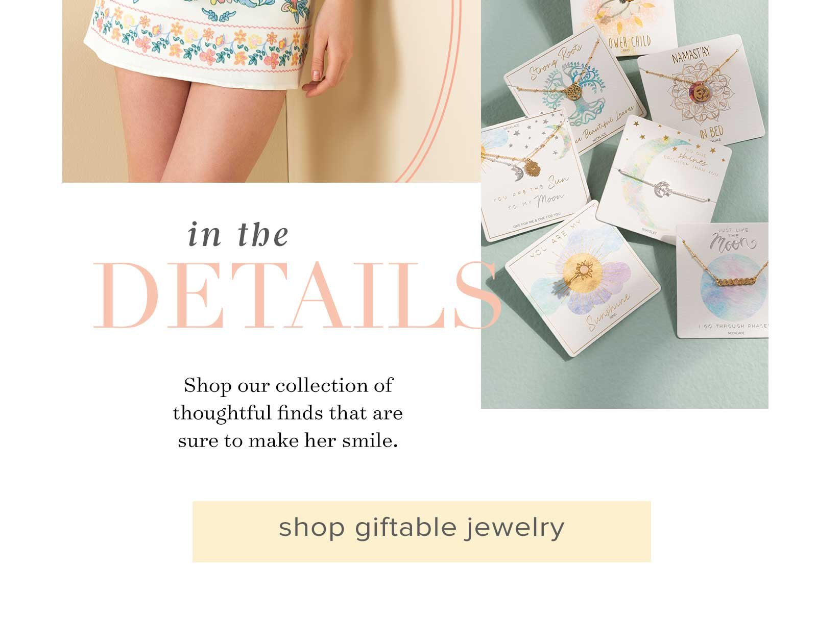 SHOP GIFTABLE JEWELRY