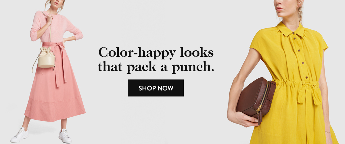 Color-happy looks that pack a punch.
