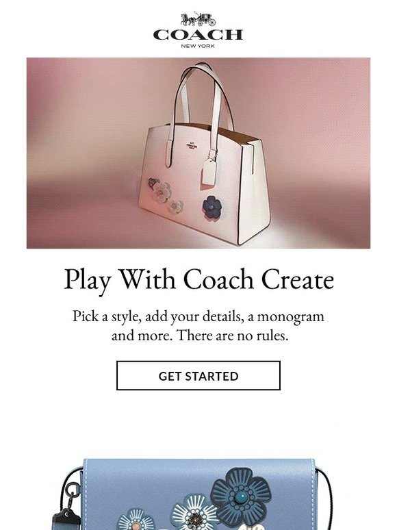 9a38798aba Coach: Play With Coach Create | Milled