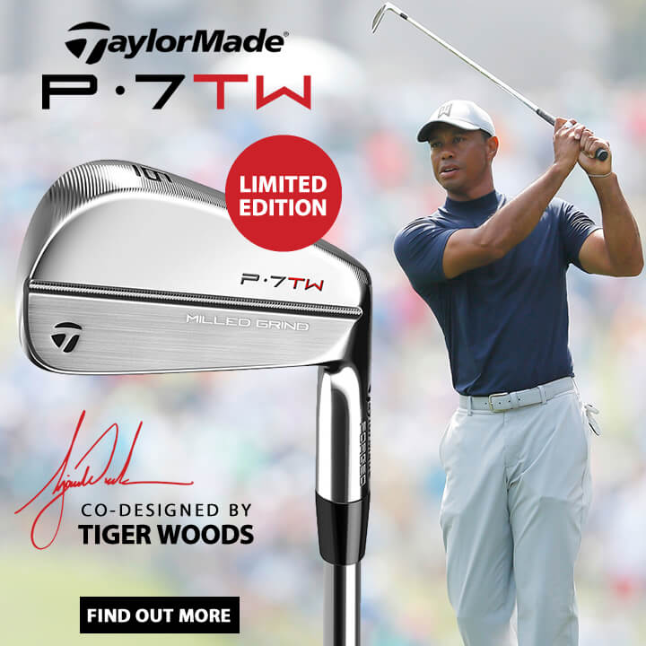 TaylorMade Tiger Woods P7TW Irons - Find Out More