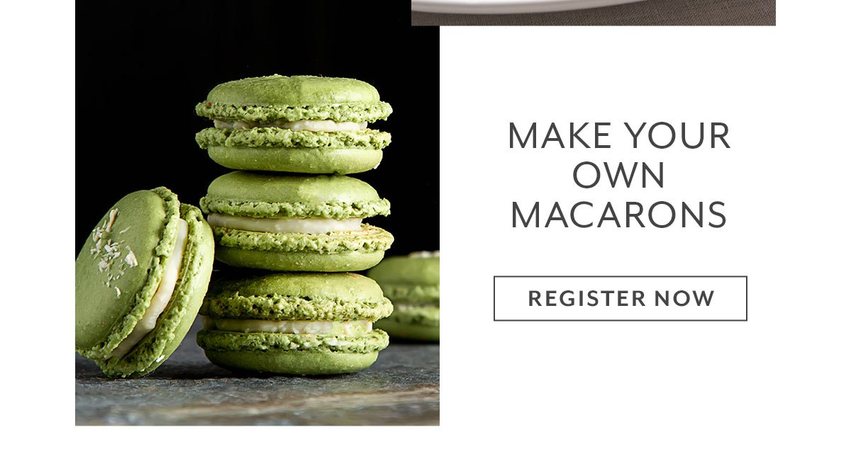 Class: Make Your Own Macarons