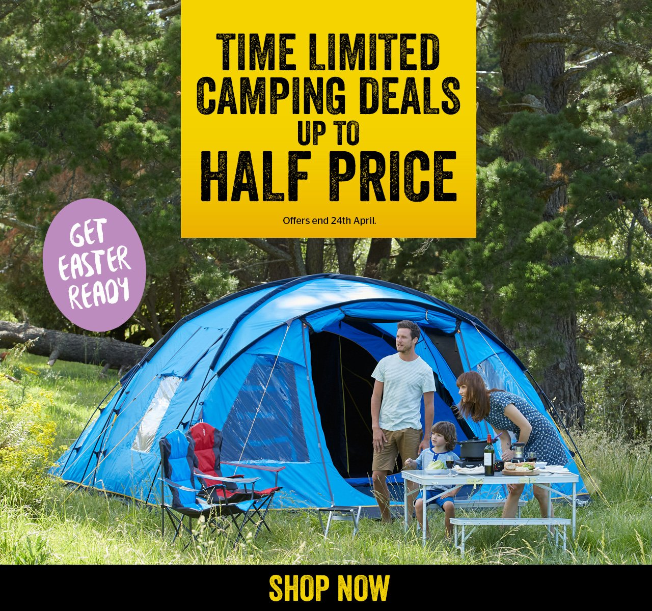 Time Limited Camping Deals