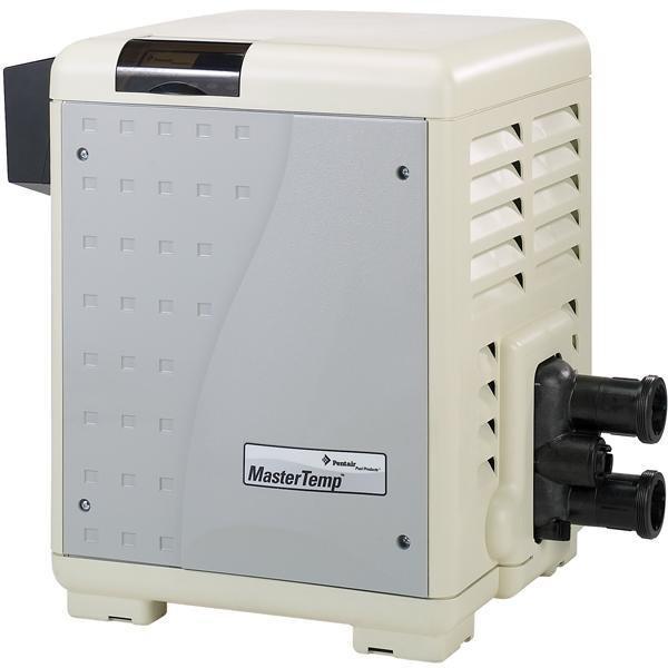 Pentair MasterTemp 400k BTU Natural Gas Pool Heater, Low NOx