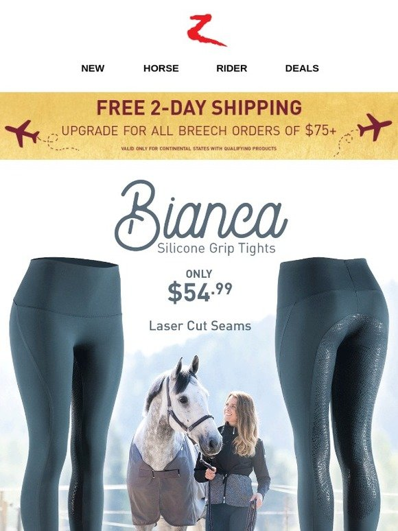 a133ba88b Horze Equestrian  Say Hello to Bianca Tights!