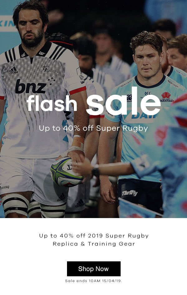 big sale 856c7 4e88b Lovell Rugby Limited: Up To 40% Off 2019 Super Rugby Gear ...