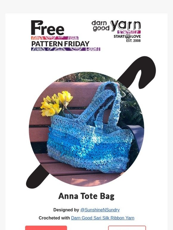 Darn Good Yarn: You're TOTES going to love today's Free