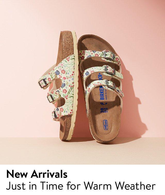 New shoe arrivals.