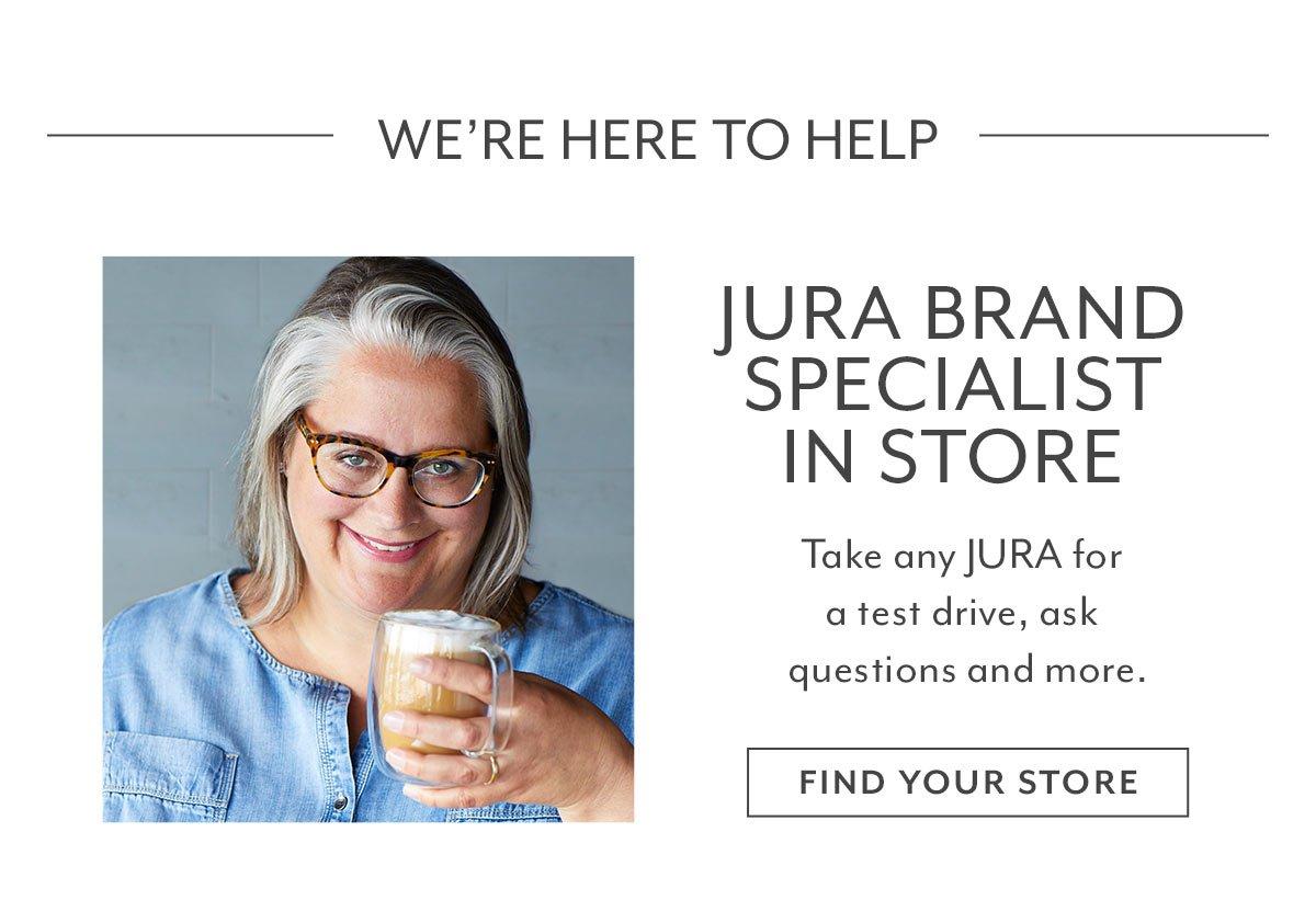 Jura Brand Specialist in Store