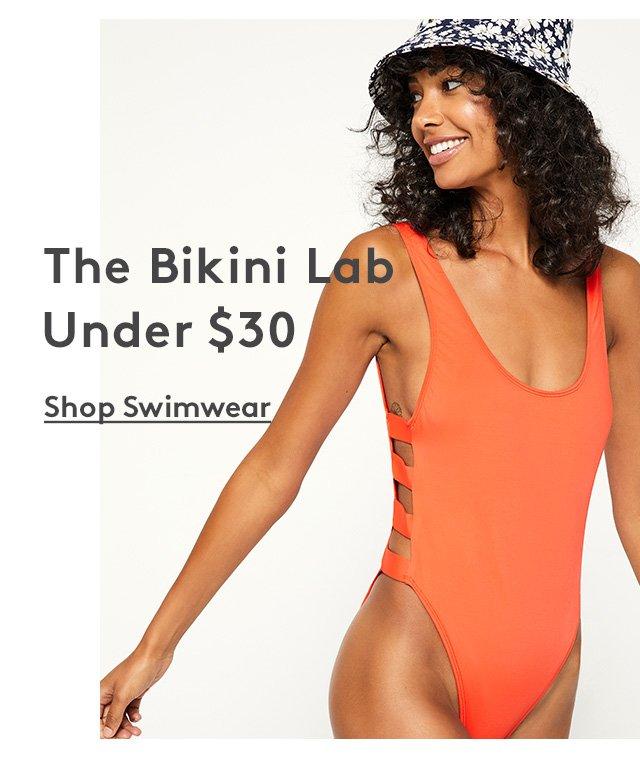 The Bikini Lab | Under $30 | Shop Swimwear