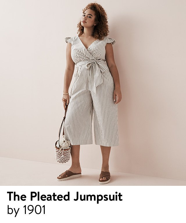 The Pleated Jumpsuit by 1901