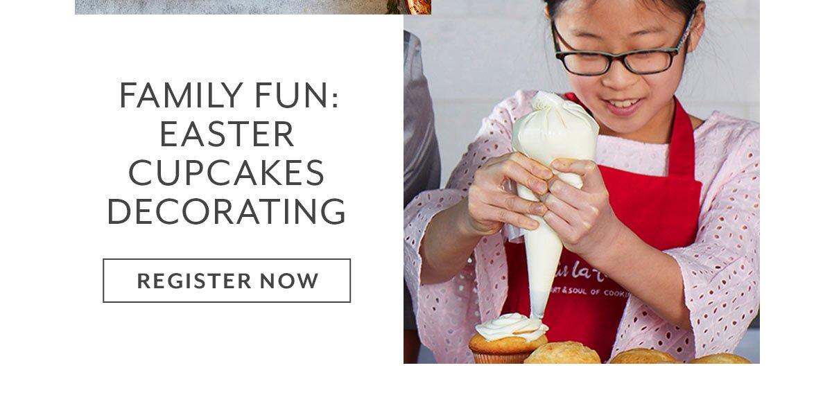 Class: Family Fun • Easter Cupcakes Decorating