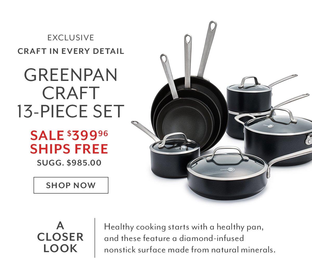 GreenPan Craft 13-PC Set