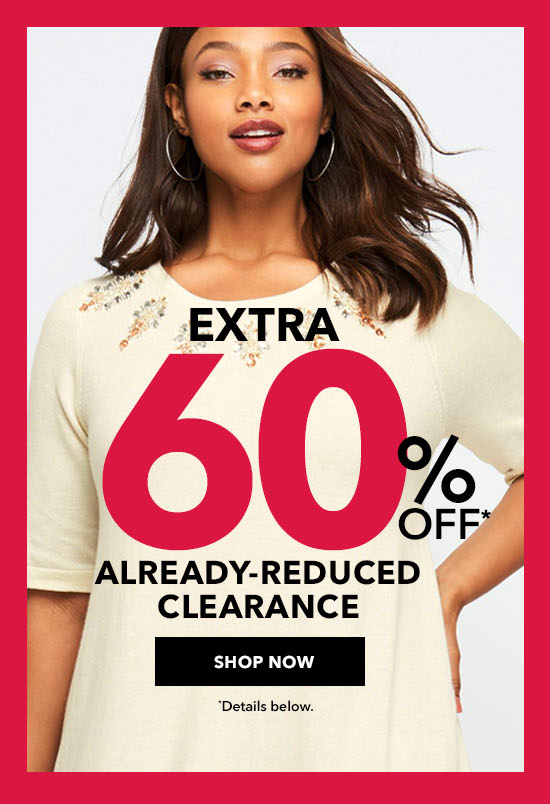 Less Is More - Extra 60% Off Already-Reduced Clearance