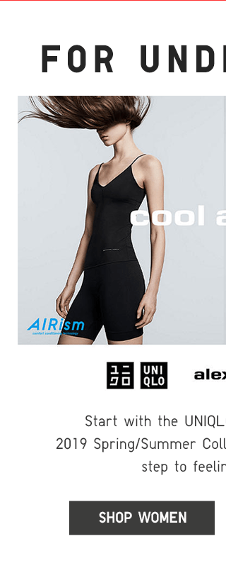 UNIQLO AND ALEXANDERWANH AIRISM - SHOP WOMEN