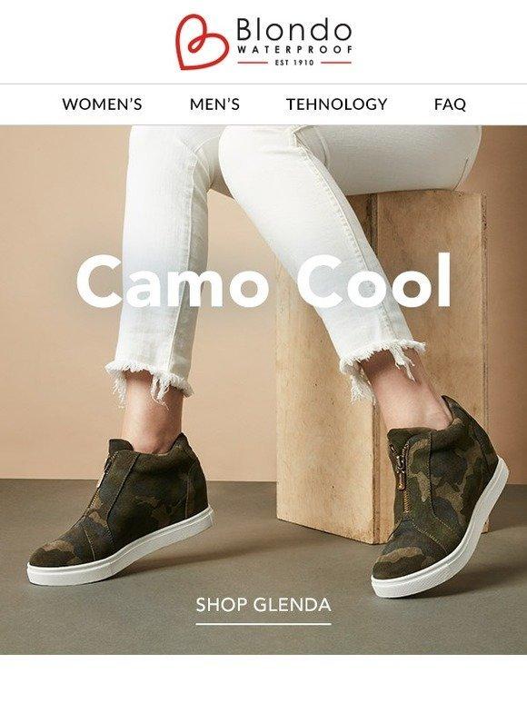 6e1f58c7150 Blondo : Camo Cool | Milled