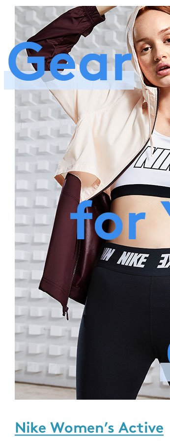 Gear for your goals | Nike Women's Active