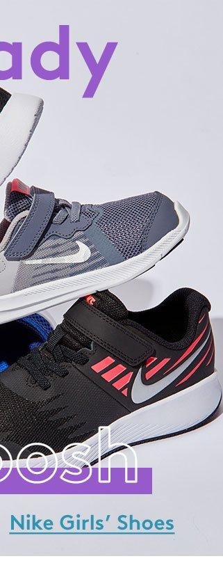 Ready | Set | Swoosh | Nike Girls' Shoes