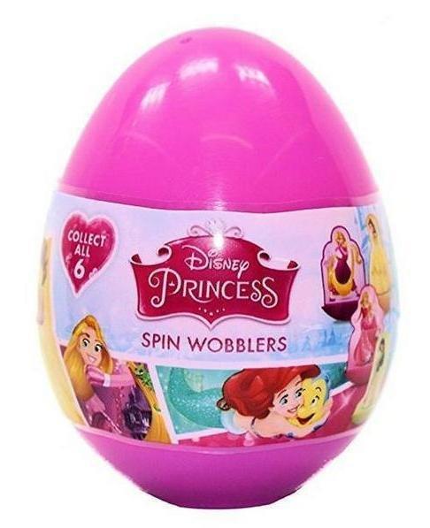 DISNEY PRINCESS SPIN WOBBLERS - SURPRISE EGG