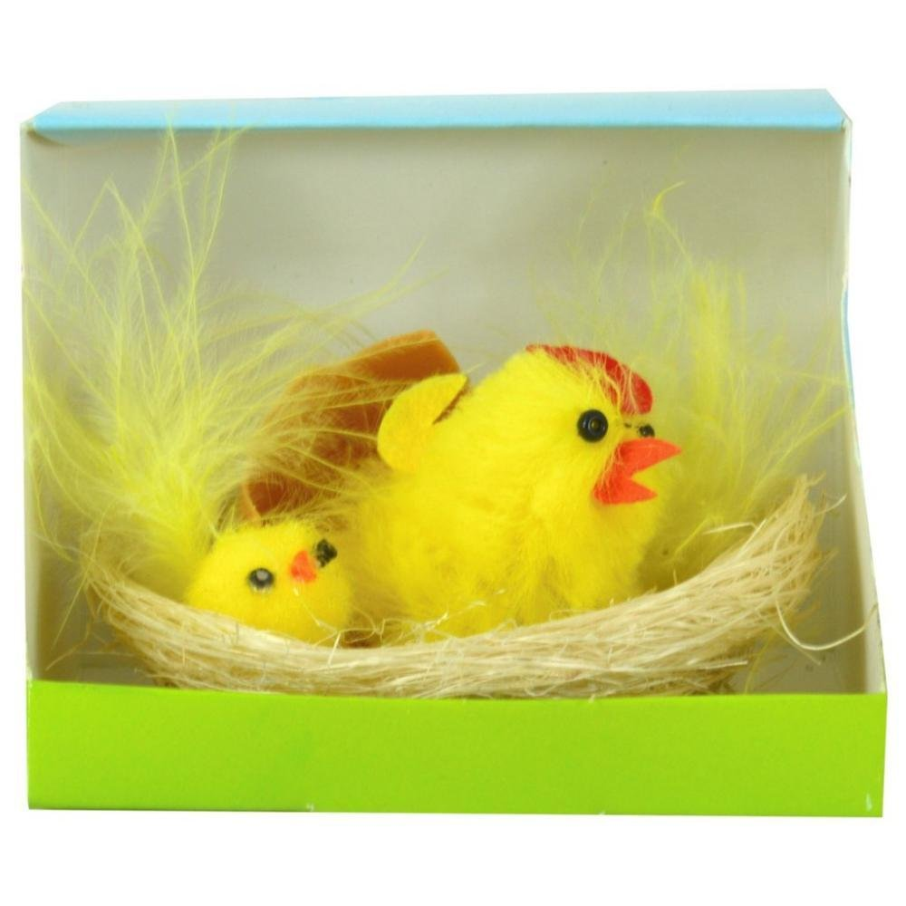 CHICKEN IN A BOX EASTER DECORATION