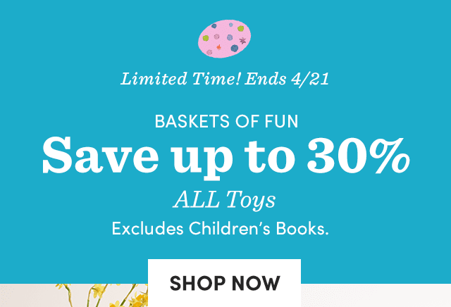 Save Up To 30% ALL Toys ›