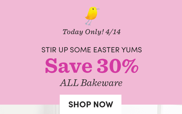 Save 30% ALL Bakeware ›