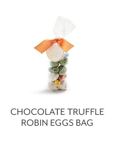 Chocolate Truffle Robin Eggs Bag
