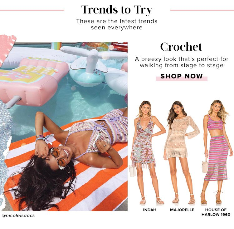 Trends to try: Shop Crochet