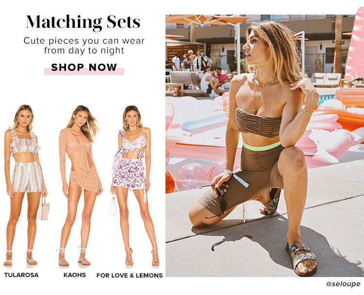 Trends to try: Shop Matching Sets