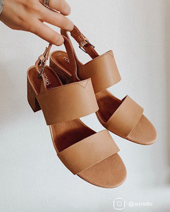 Honey Leather Women's Poppy Sandals