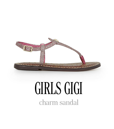 GIRLS GIGI charm sandal