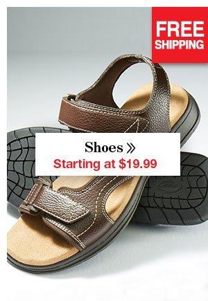 Shop Men's Shoes Starting at $19.99