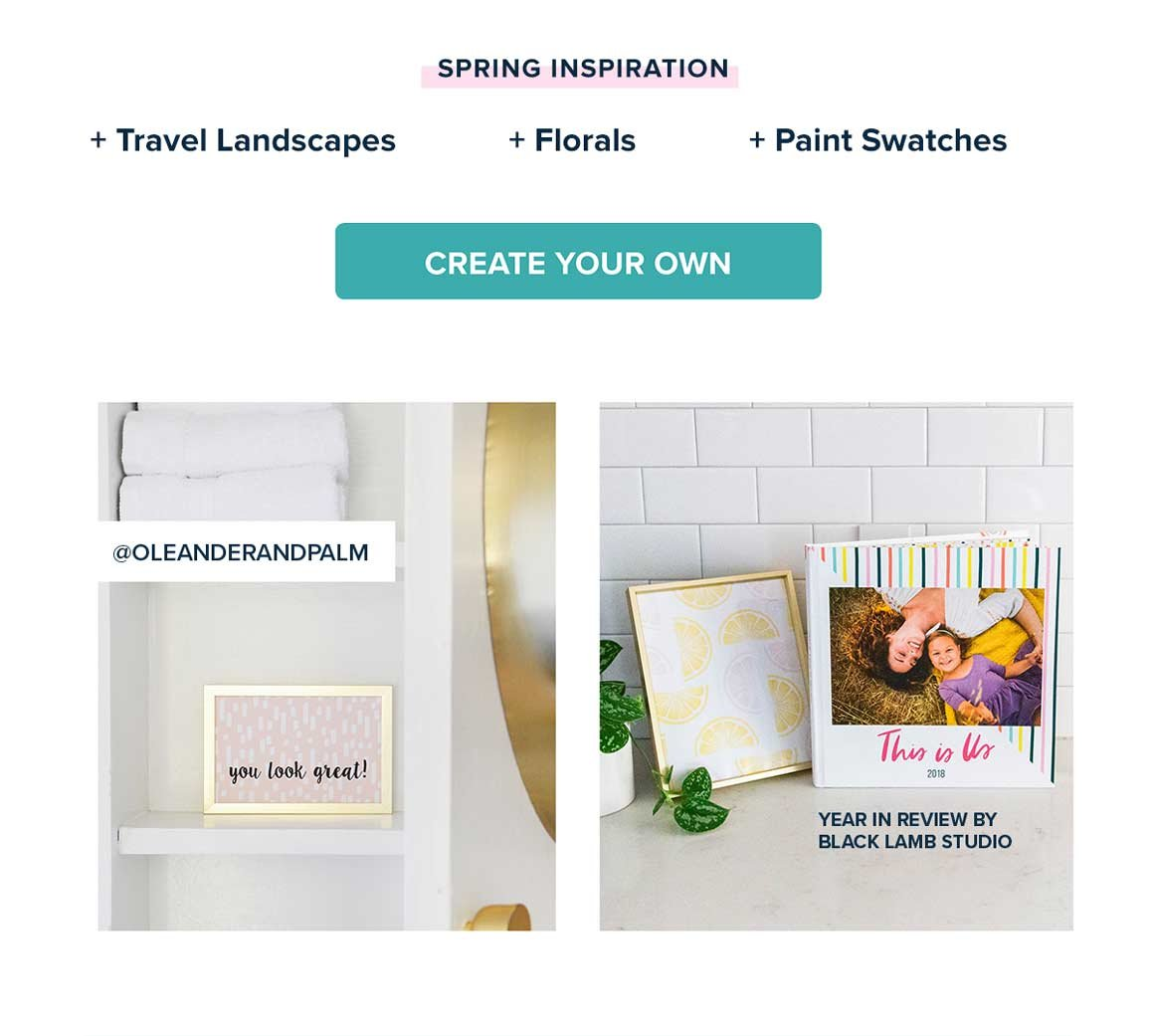 Create Your Own Home Decor Now