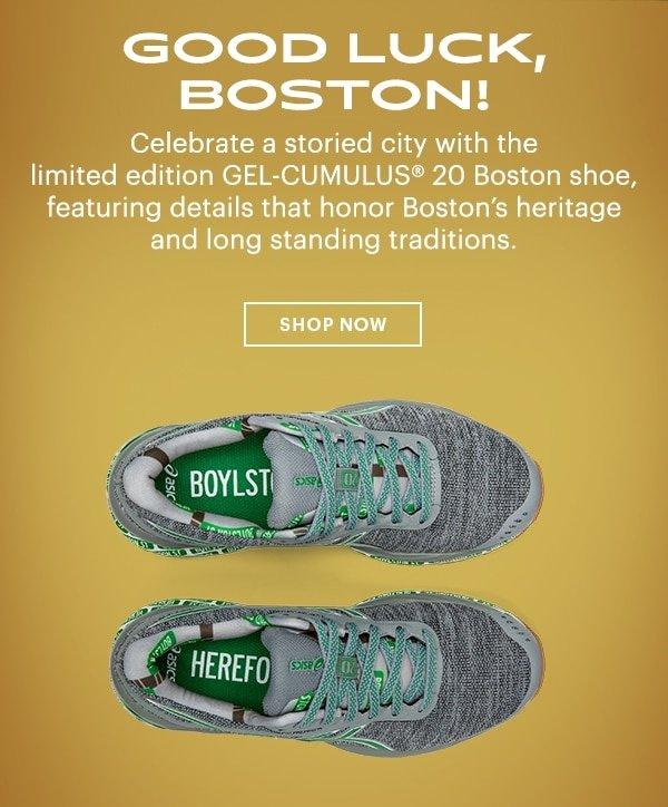 Good Luck, Boston!