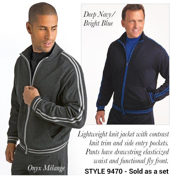Lightweight Jog Suit Set - Style 9470