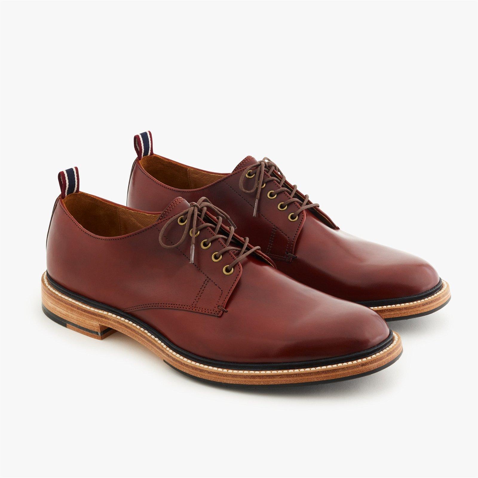 Oar Stripe Italian leather derbys