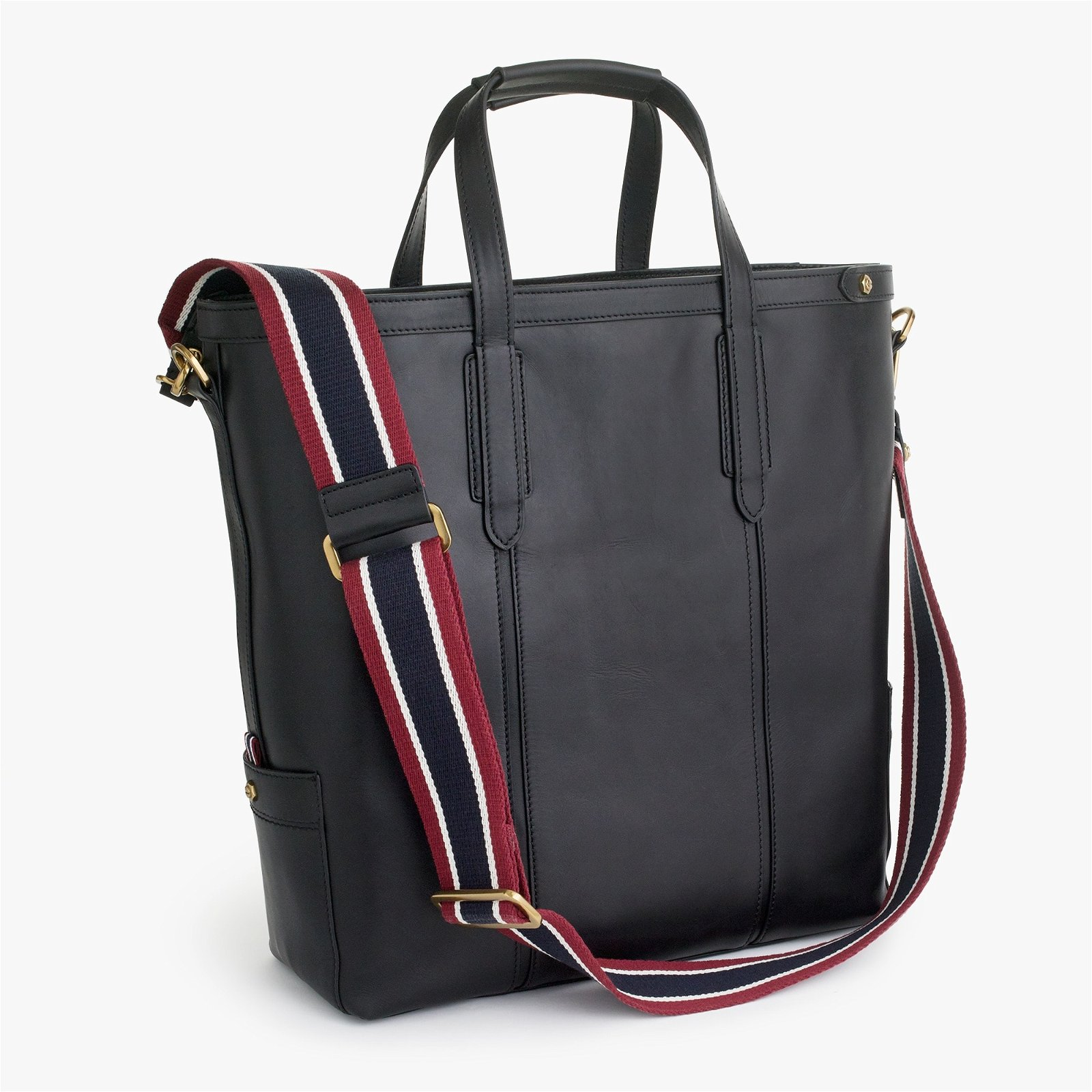 Oar Stripe leather tote bag
