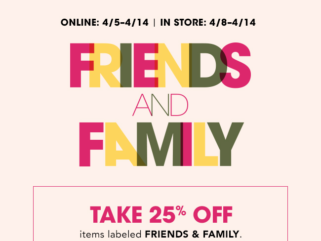 Bloomingdale's: Last chance to take 25% off! Milled  Milled