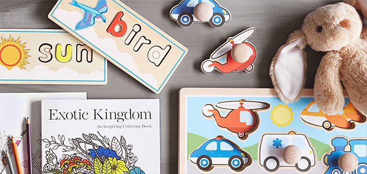 Skill-Building Books & Toys