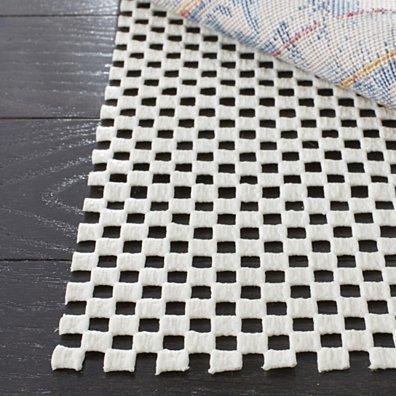 Grid Rug Pad White