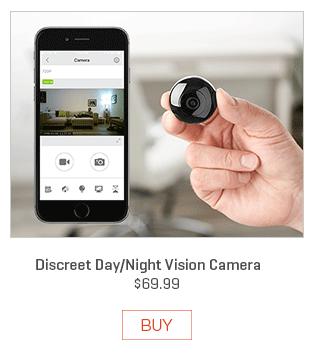 Discreet Day/Night Vision Camera