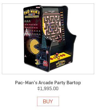 Pac-Man's Arcade Party Bartop