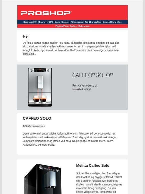 54a863f1d99 Proshop KOO: Dagen begynder med en kop kaffe... | Milled