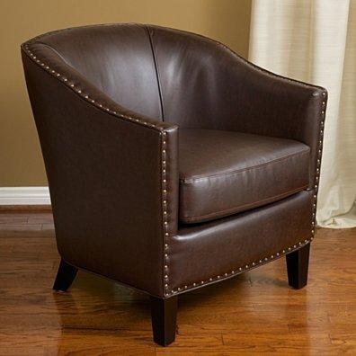 Carlton Mid Century Tub Style Club Chair