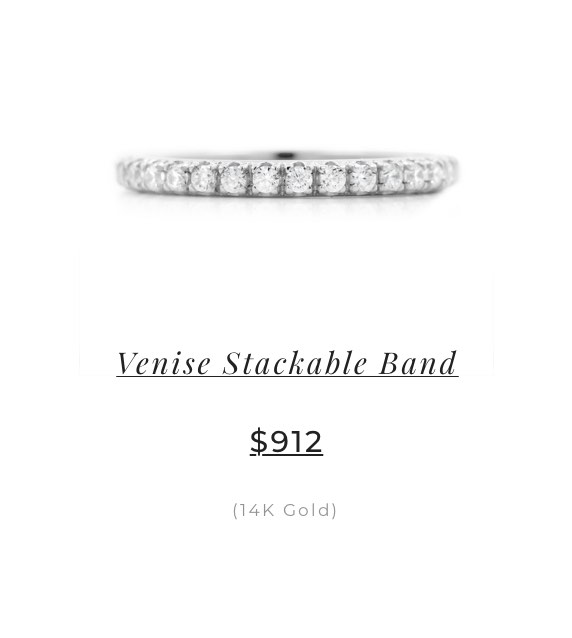 Venise Stackable Band