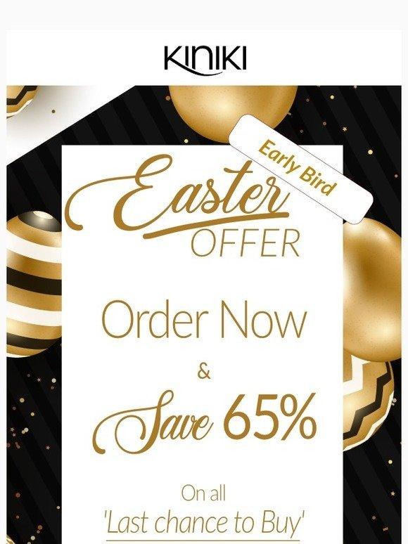 5937246cf6eab Kiniki: Grab 65% Off in our Early Bird SALE!   Milled