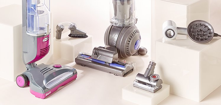 Clean Up With Dyson, Shark & More