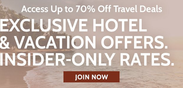 Exclusive Hotel & Vacation Offers!