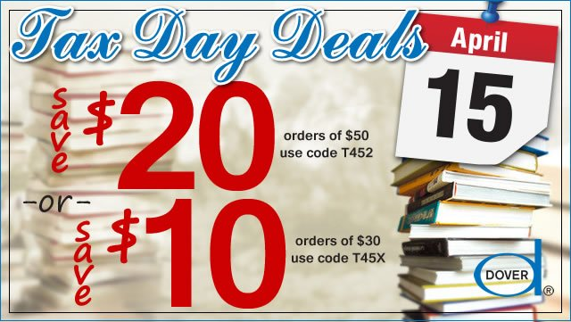 Tax Day Deals: Save Up to $20