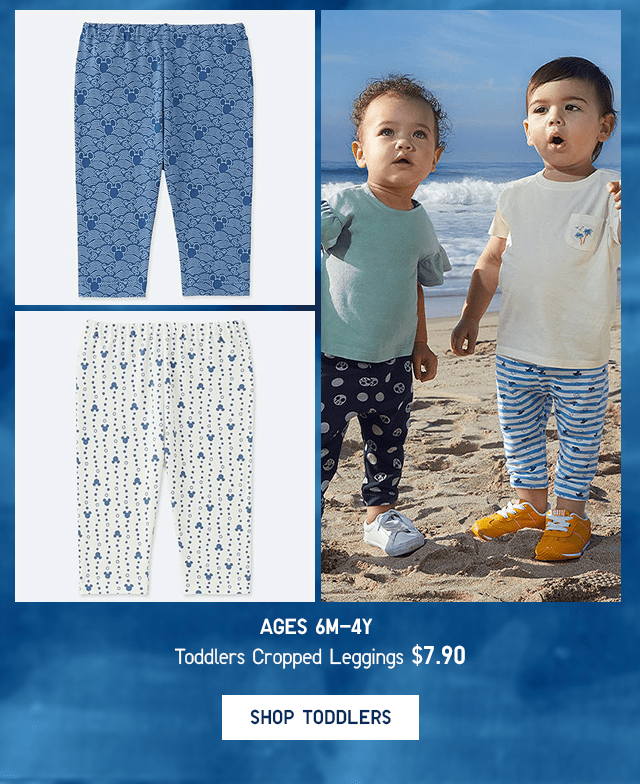 TODDLERS CROPPED LEGGINGS $7.90