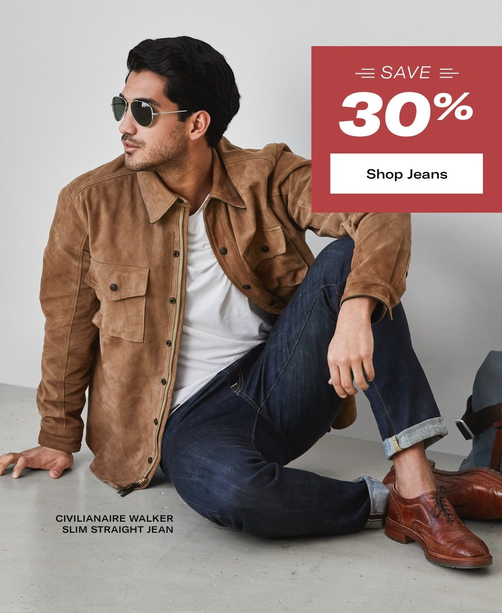 Save 30% on Jeans